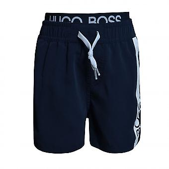 Hugo Boss Boys Hugo Boss Boy's Navy Swim Shorts