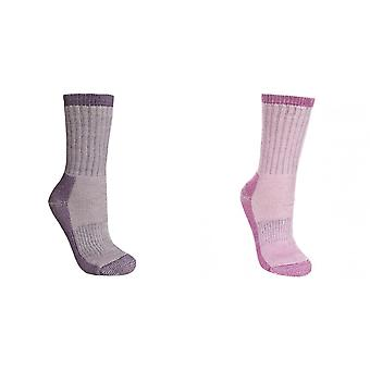 Trespass Womens/Ladies Springer Hiking Boot Socks (1 Pair)