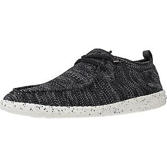 Hey Dude Sport / Wally Knit Color Dkgrey Sneakers