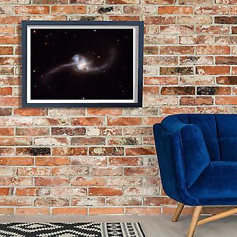 Télescope Hubble - NGC 2623 affiche impression Giclée