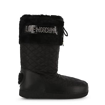 Love Moschino Original Women Fall/Winter Boot - Black Color 37988