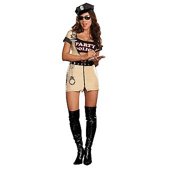 Women Sexy Party Police Costume