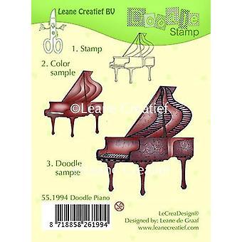 LeCrea - Doodle selkeä leima Piano 55.1994