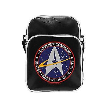 Star Trek Starfleet Logo Vinyl Messenger Tas