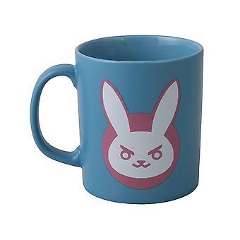 Overwatch mug, D.Va-Blue