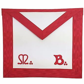 Masonic master mason mb apron