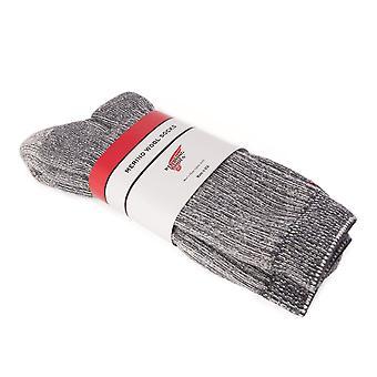 Red Wing Merino Wool Socks - 2 Pairs Gift Pack-8 1/2 - 11 1/2 UK (9-12 US)