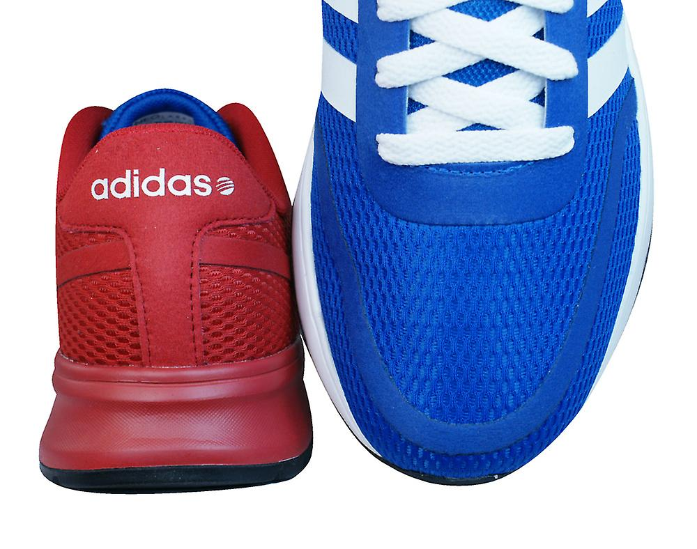 Adidas V Racer Tm Ii Tape Mens Running Trainers / Shoes - Blue