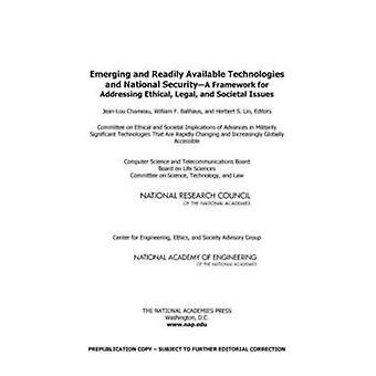 Nye og let tilgængelige teknologier og national sikkerhed - A