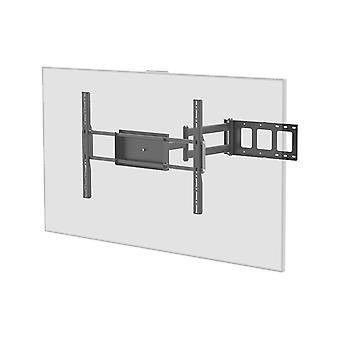 Corner Friendly Full-Motion Articulating TV Wall Mount Bracket For TVs 37in to 70in  Max Weight 110lbs  Extension Range of 5.5in to 28.3in  VESA Patterns Up to 700x500 by Monoprice