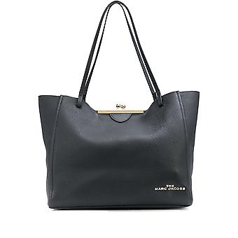 Marc Jacobs M0016155001 Women's Black Leather Tote