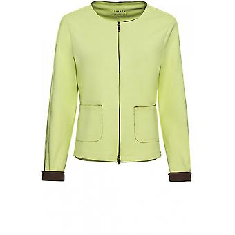 Bianca Lime Jersey Jacket