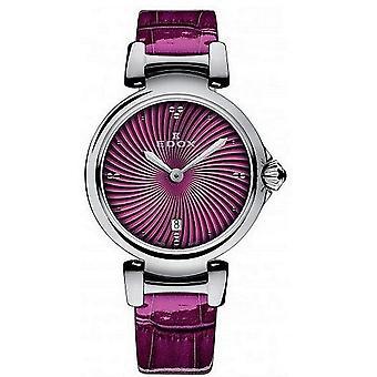 Edox klockor LaPassion 2 Händer Kvinnors Watch 57002 3C ROIN