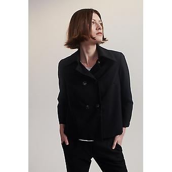 Lindsay Nicholas NY Double Breasted Jacket Blk