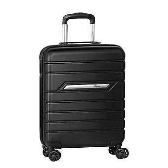 Fabrizio Worldpack Runway HandbagAge Trolley S, 4 Hjul, 55 cm, 38 L, Svart