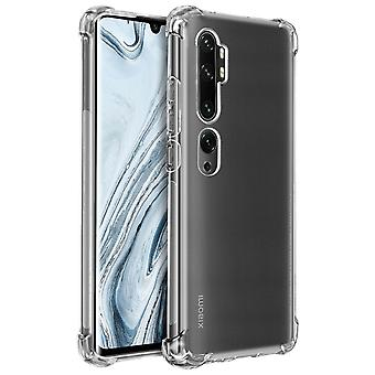 Case for Xiaomi Mi 9 Lite Akashi with Enforced Angles, Silicone - Clear