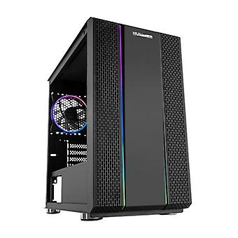 Mini-tower box Micro ATX / ITX NOX Hummer Fusion RGB LED Black