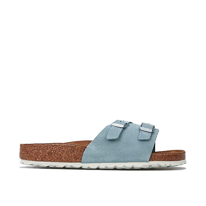 Women's Birkenstock Vaduz Soft Footbed Sandals Narrow in Blue 59Ylw