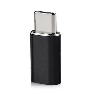 USB-C–Micro USB adapter alumínium