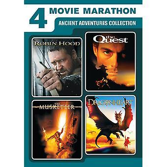 4-movie Marathon: importation des USA de l'ancienne Collection d'aventures [DVD]