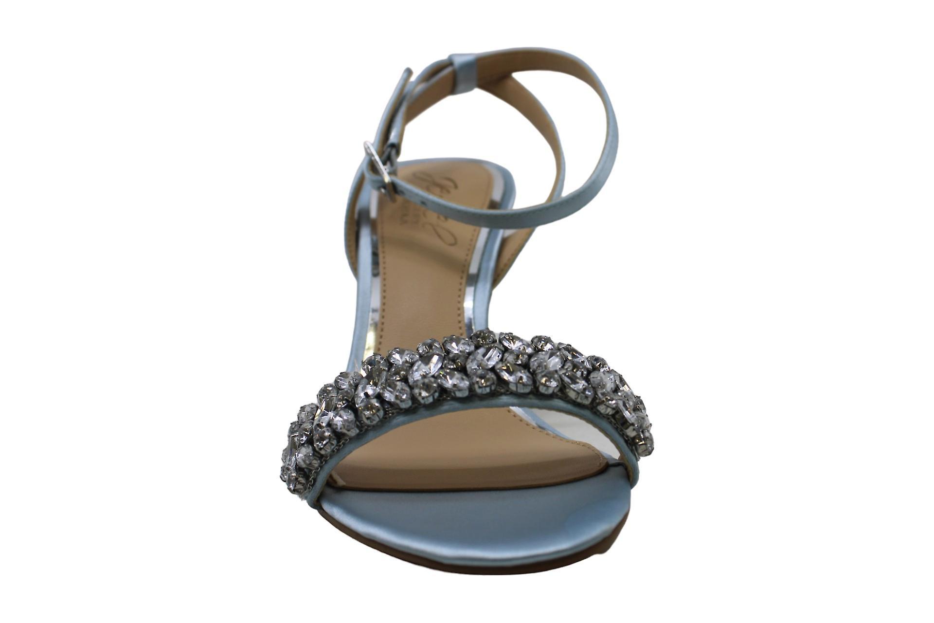 Jewel Badgley Mischka Kvinner's Baltimore Sandal, Sky Blue, 5,5 M Usa