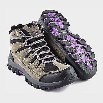 Hi-Gear Women-apos;s Kinder II Walking Boots Gris/Purple