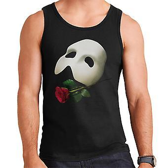 The Phantom Of The Opera Mask & Rose Men's Vest