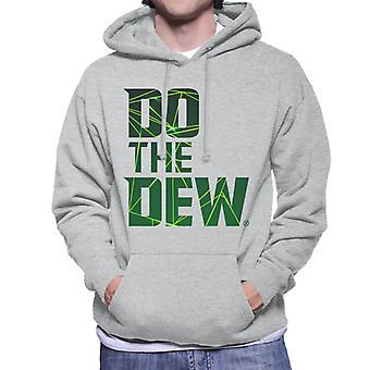 Mountain Dew Do The Dew Laser Men's Hooded Sweatshirt