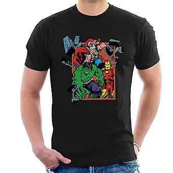 Marvel Avengers Wall Break Men's T-Shirt