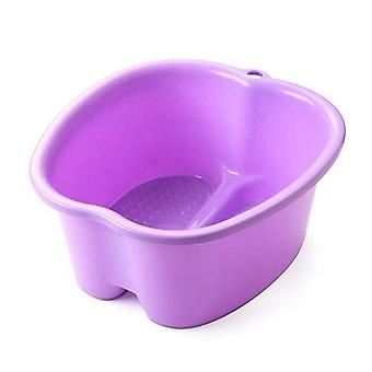 Velké plastové a přenosné umyvadla Bucket pro nohy lázně Lázně Pedikúra masáž