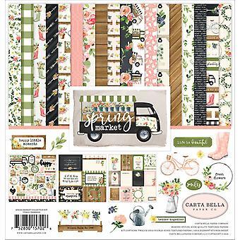 Kit de coleção Carta Bella Spring Market 12x12 Polegadas
