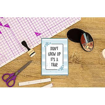 Crafter's Companion Don't Grow Up Clear Stamps