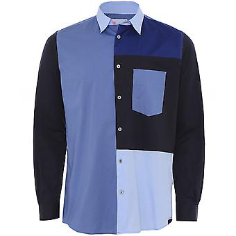 Paul Smith Casual Fit Patchwork Shirt