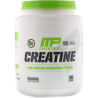 MusclePharm, Creatine, Unflavored, 2.2 lbs (1 kg)