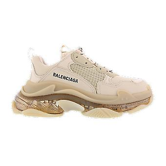 Balenciaga Fabric Sneaker Rubber Sole Beige 544351W2GA19710 shoe