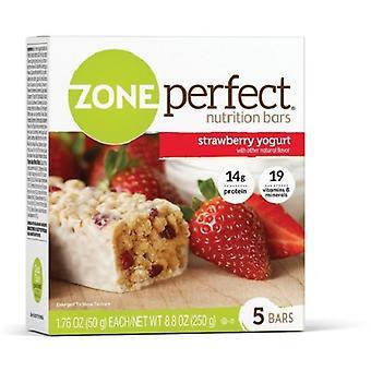 Zone Perfect Nutrition Bars Strawberry Yogurt