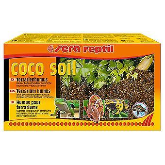 Sera Reptil Soil Fibras de Coco para Terrarios Húmedos (Reptiles , Beds and Hammocks)