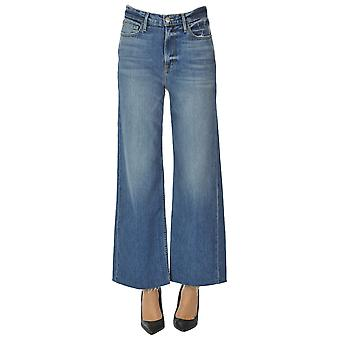 Frame Ezgl418003 Women's Blue Cotton Jeans