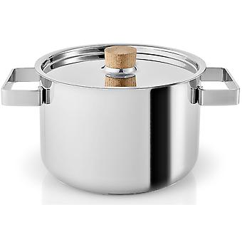Eva Solo Nordic Kitchen rostfri kruka 3,0 liter med trähandtag