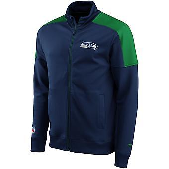Seattle Seahawks ICONIC NFL Track Jacket navy
