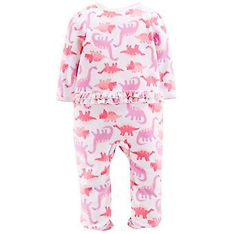 Simple Joys de Carterăs Baby Girlsă 2-Pack Fleece Footed Sleep and Play, Dino...