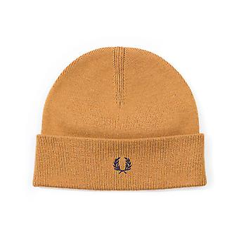 Fred Perry Brown Beanie