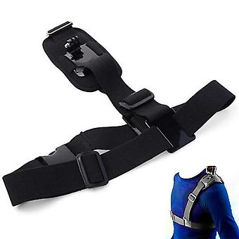 Mount Harness Chest Strap Belt For Gopro Hd Hero 8/7/6/5/4/3/ Sj4000/sj5000