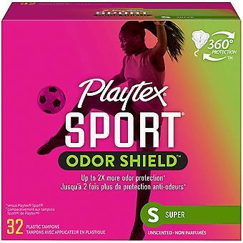 Playtex Sport Fresh Balance Légèrement parfumé Super Absorbence, 32 compte