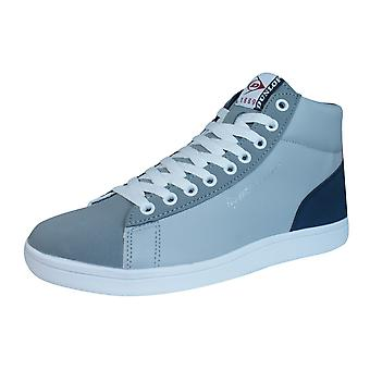 Dunlop undervisere Jerez Herre Top Hej snøre sko - grå