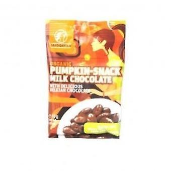 Landgarten - semilla de calabaza Snack Chocolate con leche