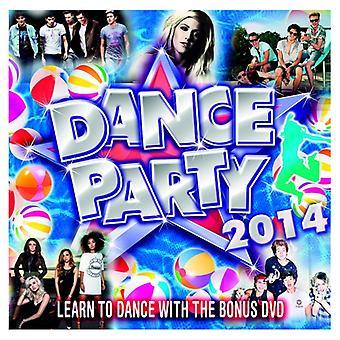 Verschiedene Künstler - Dance Party 2014 CD + DVD