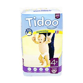Maxi + Night & Day (T4 +) diapers 9-20kg 48 units (T4+ (9-20 kg))