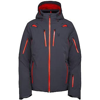 Spyder PINNACLE Men's Gore-Tex Primaloft Ski Jacket charcoal