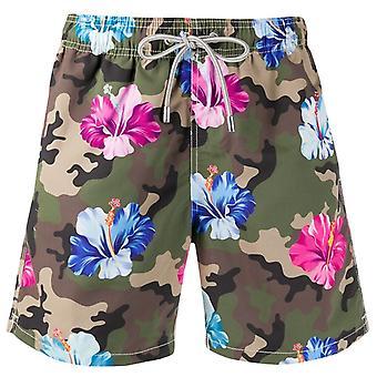 Gustavia Flower Camo Swim Shorts